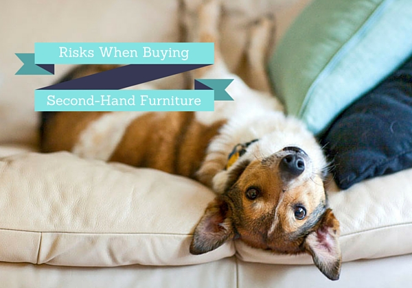 Risks you take when buying second-hand furniture